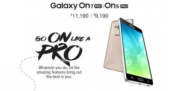 Samsung lancia Galaxy On5 Pro e On7 Pro