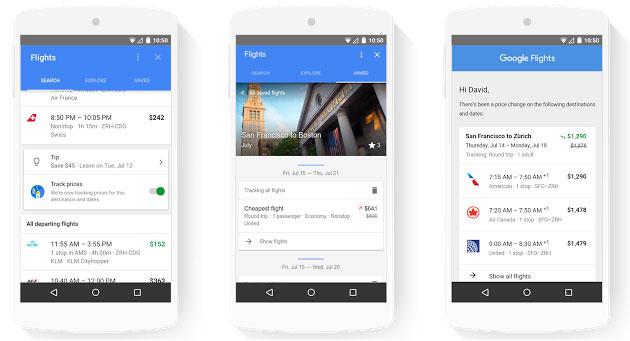 Google rende semplice pianificare il viaggio perfetto al prezzo giusto