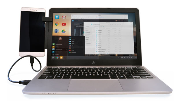 Superbook trasforma in laptop uno smartphone Android