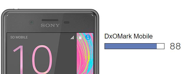 Fotocamera di Xperia X Performance pari a quella di S7 edge e HTC 10 per DxOMark