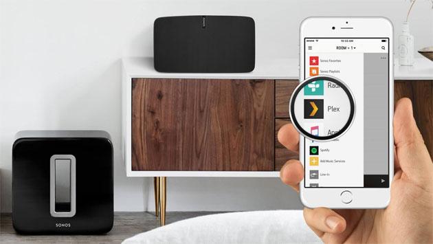 Plex su Sonos