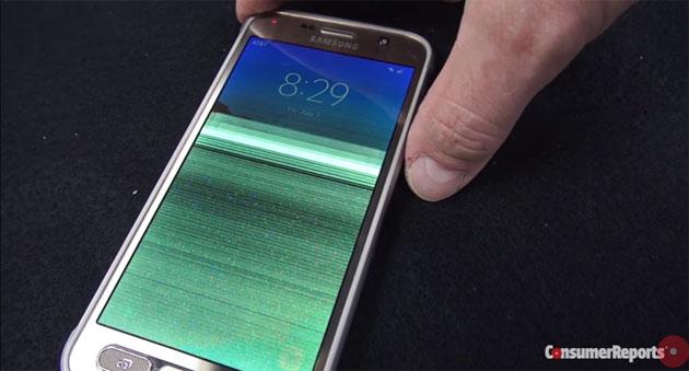 Samsung Galaxy S7 Active fallisce test di resistenza sotto acqua