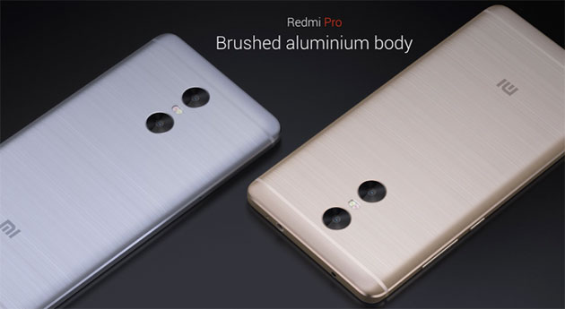 Xiaomi Redmi Pro ufficiale: display OLED, dual camera, chip deca-core