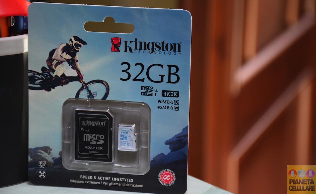 Recensione Micro SD Kingston UHS-I U3, perfetta per action cam e droni