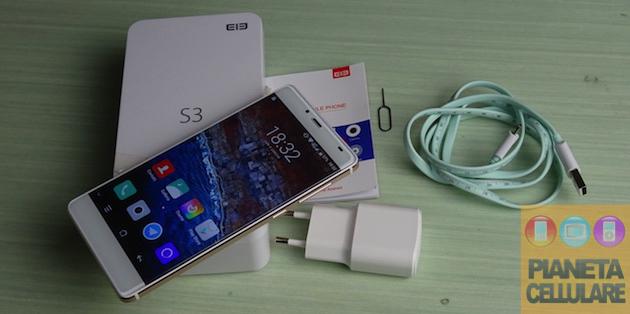 Recensione Elephone S3, Android Borderless di fascia media
