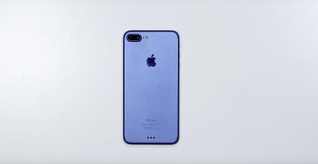 Prototipo di Apple iPhone 7 Plus mostrato in video, ecco come potrebbe essere