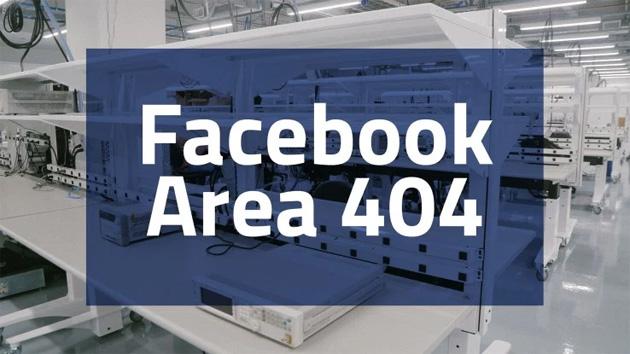 Facebook Area 404, laboratorio per tecnologie del futuro