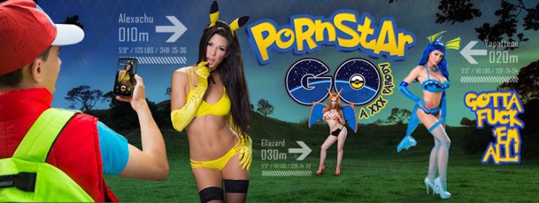 Pornstar GO, Brazzers realizza la parodia Hot di Pokemon GO