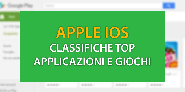 Foto Apple iOS: Classifiche Top App e Giochi ad Agosto 2018