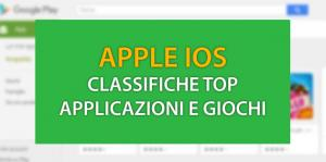 Apple iOS: Classifiche Top App e Giochi ad Ottobre 2017