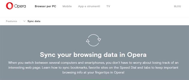 Opera sync, violati i server del servizio di sincronizzazione web