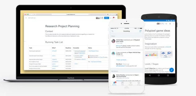 Dropbox Paper e Smart Sync come funzionano