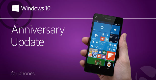 Windows 10 Mobile Anniversary Update ora disponibile: come aggiornare