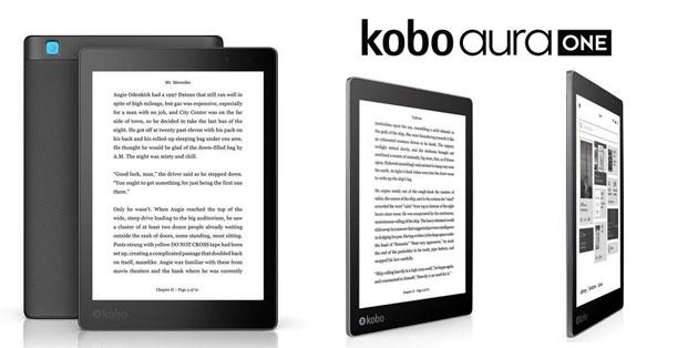 Kobo Aura One, eReader impermeabile con ampio schermo e protezione occhi da luce blu