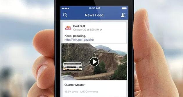 Facebook testa video in riproduzione automatica con suono su Android e iOS