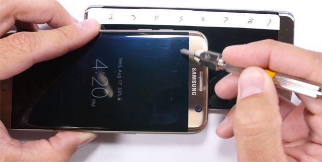 Galaxy Note 7, il vetro Gorilla Glass 5 resiste poco ma Corning si difende