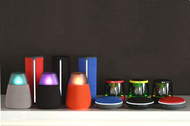 Lg PH1, PH2, PH3 e PH4, Ecco i nuovi Speaker Bluetooth di Lg