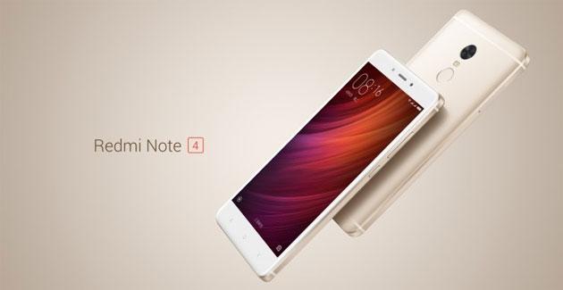 Xiaomi Redmi Note 4 ufficiale