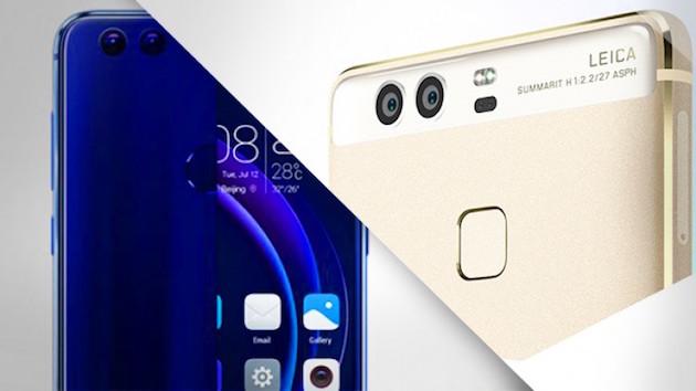 Honor 8 vs Huawei P9, caratteristiche a confronto