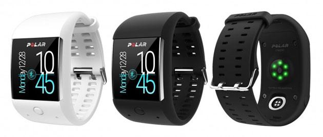 Polar M600, smartwatch di lunga durata con GPS per sportivi con Android Wear 2.0