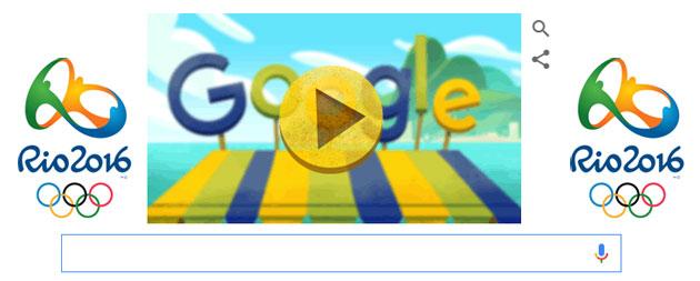 FruitGames, Google per le Olimpiadi Rio 2016