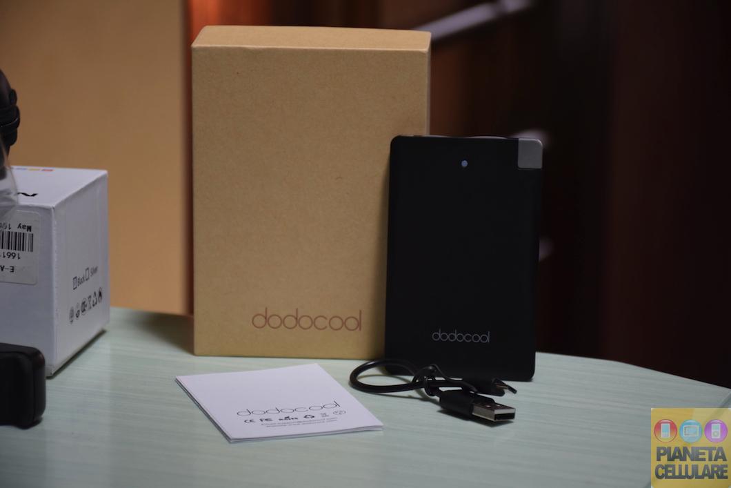 Recensione Power Bank Dodocool DP08, 2500 mAh nelle dimensioni di una carta di credito