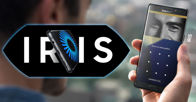 Galaxy Note 7, Samsung dettaglia lo scanner Iride