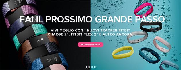 Fitbit Charge 2 e Flex 2 in vendita: Prezzi e Caratteristiche