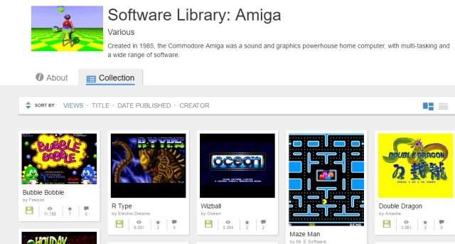 Sono oltre 10000 i giochi per Amiga giocabili gratuitamente da browser