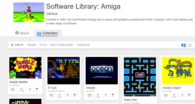 Bubble Bobble, Pac-Man, Maze Man: Internet Archive mette online 10 mila titoli Amiga