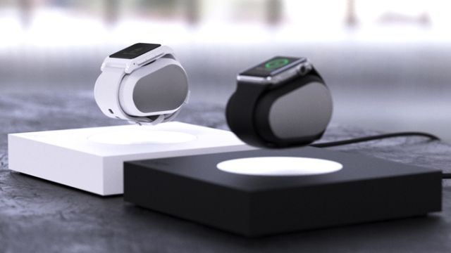 Lift: Caricabatterie a levitazione per Apple Watch e Pebble