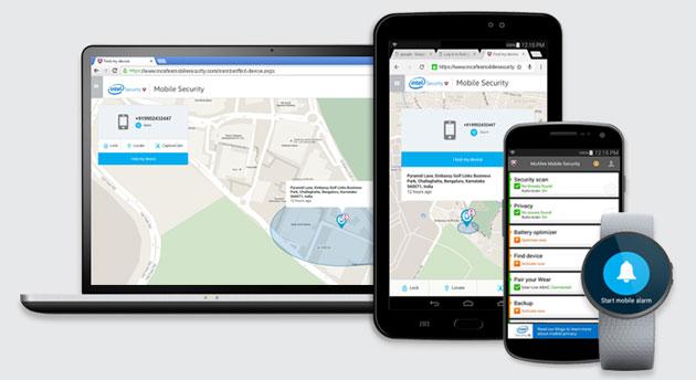 Samsung Galaxy Note7 e Z2 protetti dai virus con McAfee VirusScan