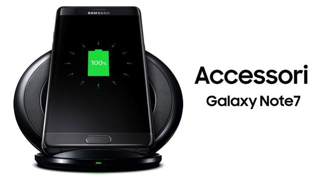 Samsung Galaxy Note 7, gli Accessori ufficiali