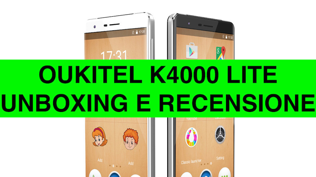 Unboxing e recensione Oukitel K4000 Lite, un vero Best Buy
