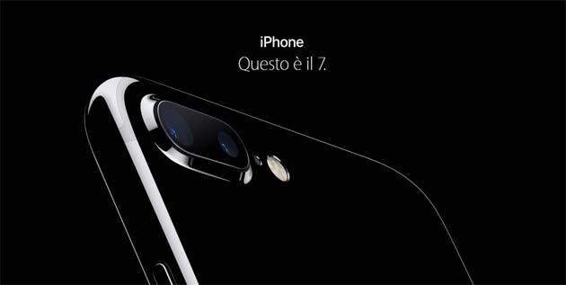 Apple iPhone 7 e iPhone 7 Plus in Italia da 799 euro