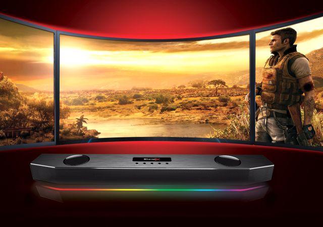 Creative Sound BlasterX Katana, la nuova generazione di speaker Sound BlasterX per il gaming
