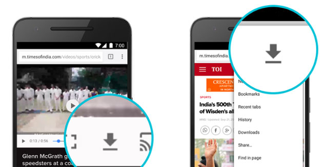 Chrome su Android: download pagine web e minor consumo dati anche video