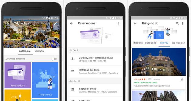 Google Trips, app compagna di viaggio