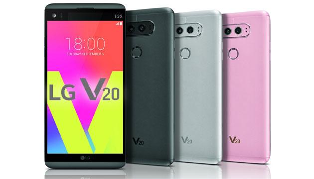 LG V20 ufficiale con due display, audio HiFi, doppia fotocamera, Android 7 Nougat
