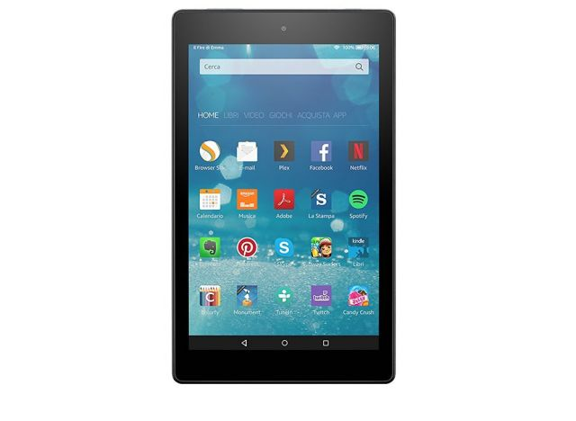 Amazon Fire HD 8, nuovo Tablet presentato da Amazon