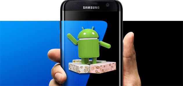 Galaxy S7 e S7 edge, Android 7 Nougat in Italia: aggiornamento disponibile per tutti