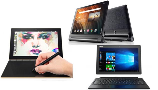 Lenovo lancia Yoga Book, Tab 3 Plus e Miix 510 a IFA 2016