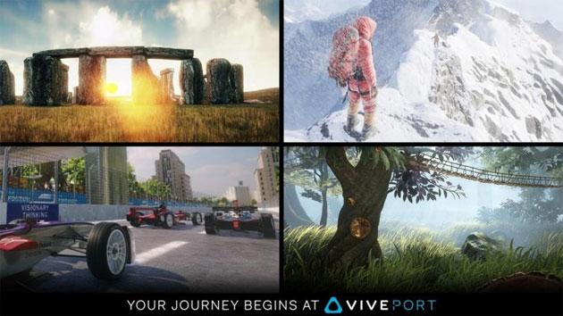 Viveport, HTC amplia le porte del suo store di contenuti VR lanciando servizio in abbonamento