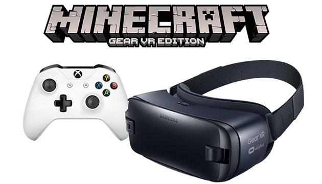 Gear VR, supporto controller Xbox wireless a partire con Minecraft