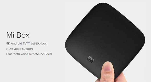 Xiaomi Mi Box con Android TV in vendita