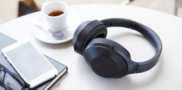 Sony MDR-1000X: cuffie wireless con cancellazione del rumore