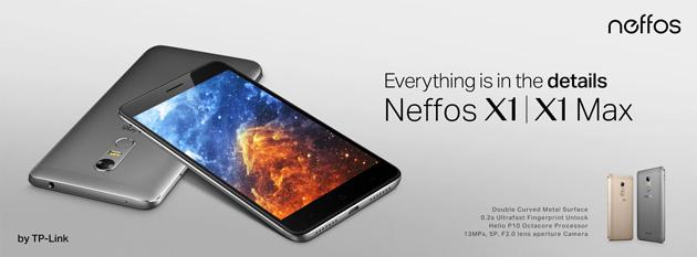 Neffos X1, Neffos X1 Max e Neffos X1 Lite in Italia