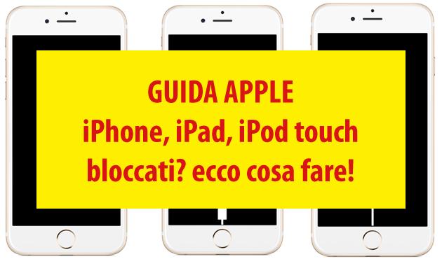 iPhone 7 e 7 Plus, Come riavviare o entrare in modalita' Ripristino