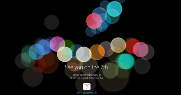 Apple iPhone 7, evento del 7 settembre: riassunto novita'