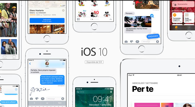 Apple iOS 10.2.1 disponibile: le novita'